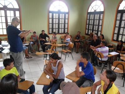 Corso di produzione video a Bujari (Acre)